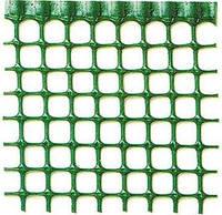 Сетка для декоративного ограждения Квадра 10 50м х 1м (зеленый)
