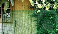Сетка для декоративного ограждения Хобби 30 50м х 1м (зеленый)