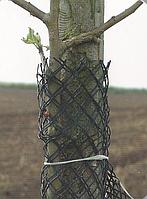 Сетка для защиты деревьев от зайцев Юта 249, 13см диаметр рукава х 100м (черный), Juta, Чехия