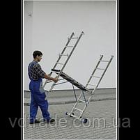 Мини-подмость Elkop HPP 5760 2м, с колесами, фото 5