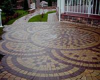 Основні способи та схеми укладання тротуарної плитки