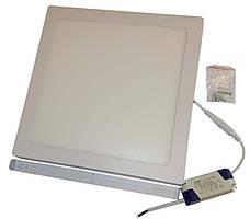 Світильник накладної квадратний LED-PANEL-12 170*170mm aluminium 960Lm 4100K IP20