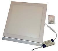 Светильник накладной квадратный LED-PANEL-24 295*295mm aluminium 1920Lm 4100K IP20