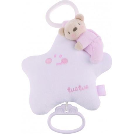 Музыкальная игрушка, TUC TUC розовая Звезда LYE