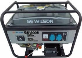 Бензиновый генератор GEWILSON GE4900E