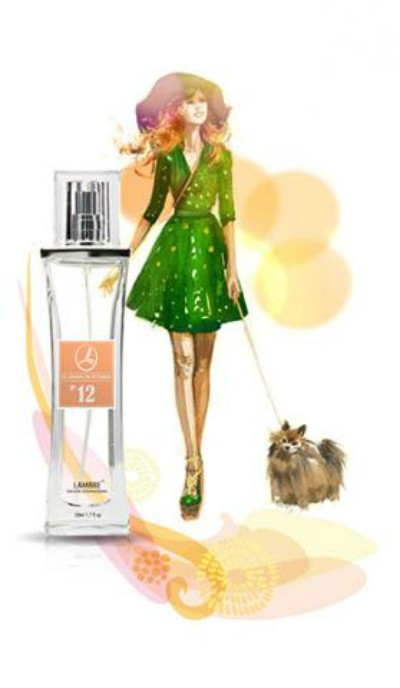 Парфюмерная вода Lаmbre №12 Be Delicious 50 ml