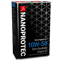 Моторное масло Nanoprotec ENGINE OIL 10W-50 Moto 4л