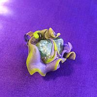 """Кольцо ручной работы. Кольцо с флюоритом, """"Веснянi барви"""""""