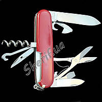 Нож Victorinox 1.3703 Swiss Army Climber RED
