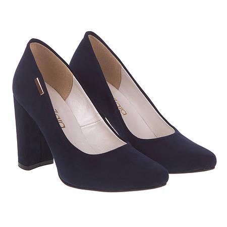 Туфли женские ZanZara (элегантные, модные, синие, стильные, изысканные)