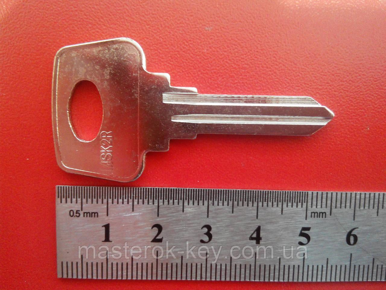 Заготовка автомобильного ключа МОСКВИЧ MSK-2R