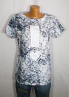 Стильная женская летняя футболка La Si Do