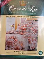 """Комплект постельного белья """"Casa de Lux"""", 100% cotton, двухспальное, 180х220, розы"""
