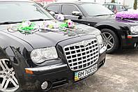 Авто на свадьбу Крайслер 300с черного цвета,кортеж Сумы
