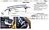 Защита заднего бампера Toyota Prado 150, труба двойная, фото 5