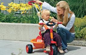 Особенности конструкции трёхколёсного детского велосипеда