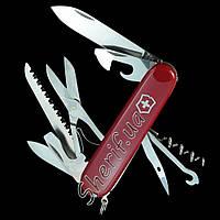 Нож Victorinox 1.3713 Swiss Army Huntsman RED