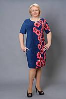 Новинки  платьев стильных, модных  Коста больширов 52, 54, 56, 58