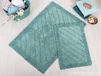 Набор ковриков для ванной Irya - Doly green зеленый 60*90+40*60