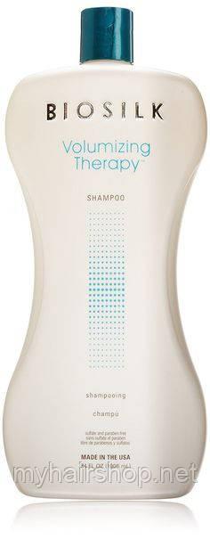 Шампунь для придания объема и восстановления волос Biosilk Volumizing Therapy Shampoo 1000 мл