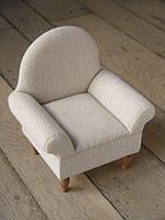 Декоративное кресло 35 см белое