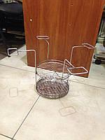 Двойная сетка с нержавеющим поддоном(№5)
