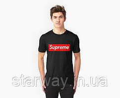 Футболка черная | Supreme |