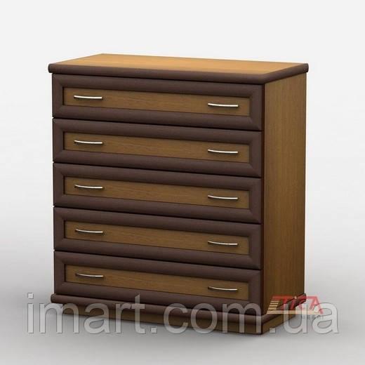 Купить Комод 012/1 меламин, Тиса мебель