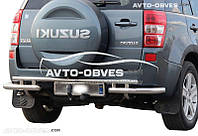 Защита заднего бампера для Suzuki Grand Vitara 2011-2015