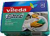 Губка кухонная для посуды Glitzi for dishes, Vileda, 2 шт., фото 2