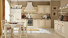 Итальянская классическая белая кухня VALENCIA Patinata Bianca  фабрика EFFE QUATTRO
