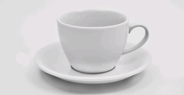 Чашка с блюдцем 200 мл