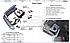 Защита заднего бампера СангЙонг Кайрон, углы двойные, фото 5