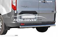 Защита заднего бампера Ford Tourneo Custom (п.к. AK)