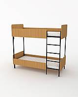 Кровать детская 190х80 см. Двухъярусная