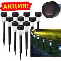 Садовый светильник на солнечной батарее 52х350мм, основа пластик