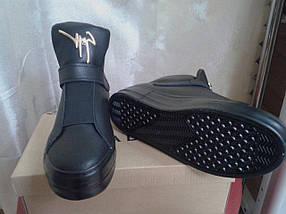 Демисезонные женские  ботинки  на танкетке Prima D A W-02, фото 3