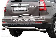 Защита заднего бампера Honda CR-V, труба П образная