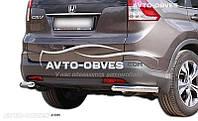 Защитные углы одинарные для Honda CR-V 2013-2016 от ИМ Автообвес