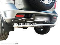 Защита заднего бампера для Chevrolet Niva Bertone прямой ус от ИМ Автообвес (п.к. AK)