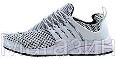 Мужские кроссовки Nike Air Presto Flyknit White Найк Аир Престо
