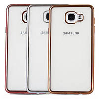 TPU чехол накладка для Samsung (Самсунг) Galaxy A3 2017 Duos SM-A320 (3 цвета)