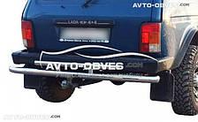 Защита задняя для Lada Niva, нержавейка