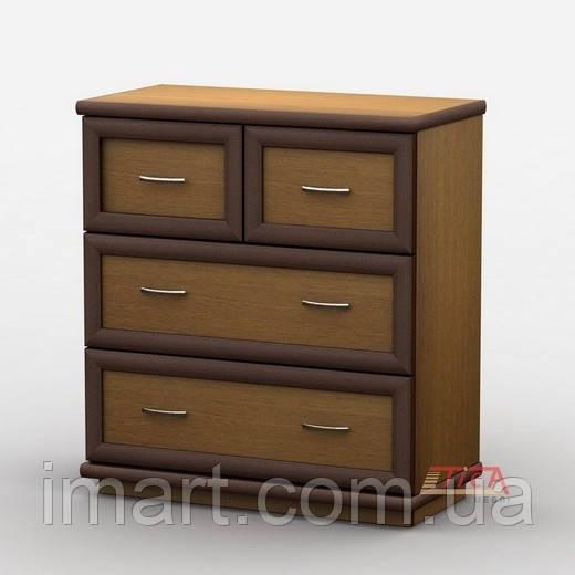 Купить Комод 016/2 меламин, Тиса мебель