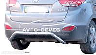 Защита задняя для Hyundai ix35, труба П-образная