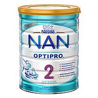 Детская сухая молочная смесь Nestle NAN 2 , 800 г