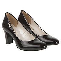 Туфли женские ZanZara (черные, классические, модные, удобные, элегантные)