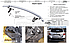 Защита задняя для Toyota Highlander, труба прямая, фото 5