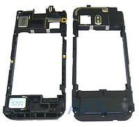 Средняя часть корпуса Nokia 5800 Black