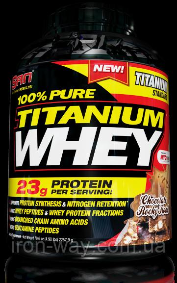 SAN 100% Titanium Whey 2268 g